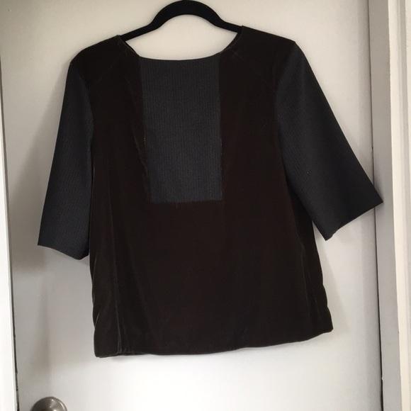 a4de8038 Hache Tops   Velvet Blouse Size 42   Poshmark